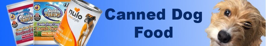 Dog canned food