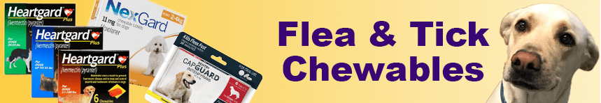 dog flea & tick chewables